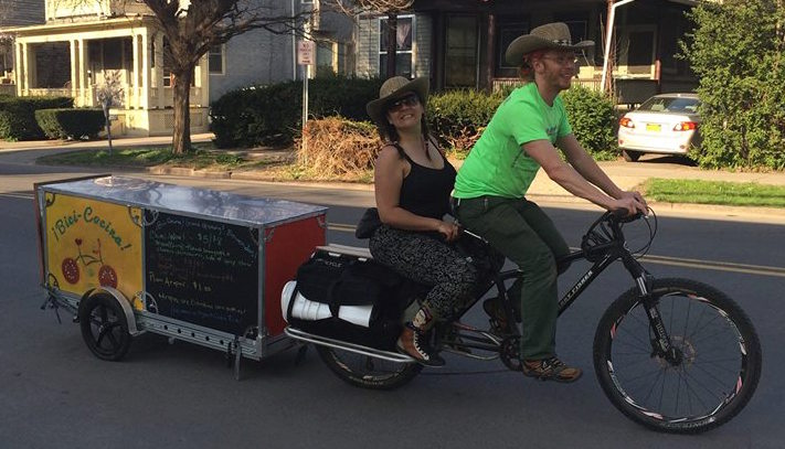 How To Make A Food Vending Bicycle Trailer Bikes At Work