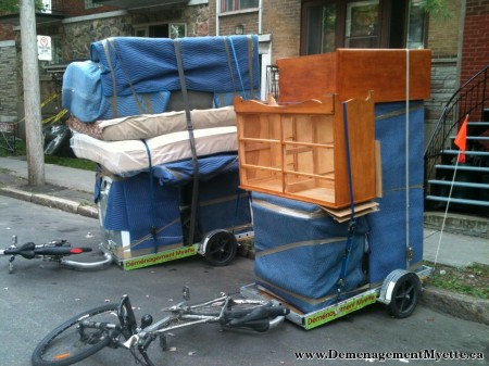Four Moving Companies That Use Bicycles Bikes At Work
