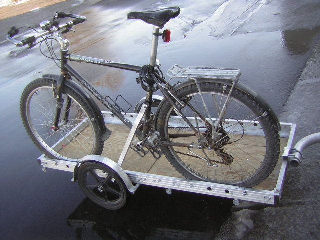 Bikes At Work Trailer Review Bicycle trailer review