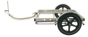 32AW bicycle trailer, side view