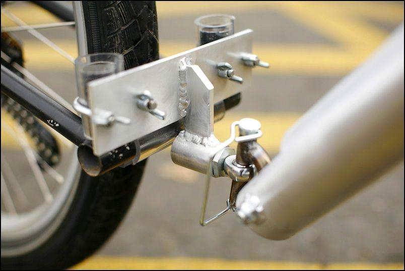Xtracycle  Big Dummy Rear Trailer Hitch
