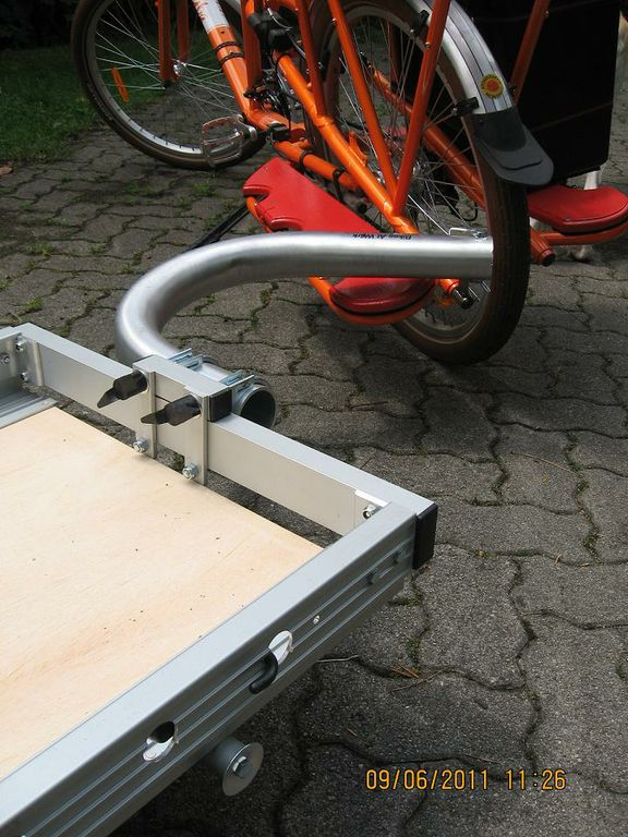 Trailers And Hitches >> Yuba Mundo Bicycle Trailer Hitch | Bikes At Work